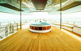 Teak deck for home & Villa